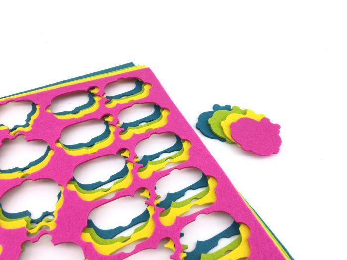 Synteettinen huopa laserleikkaus