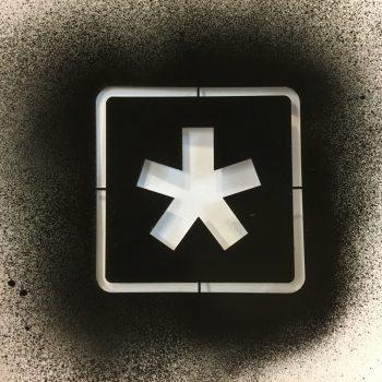 Laserleikattu stencil ja sapluuna